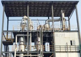 Forced circulation of the principle of evaporation mold and the scope of application