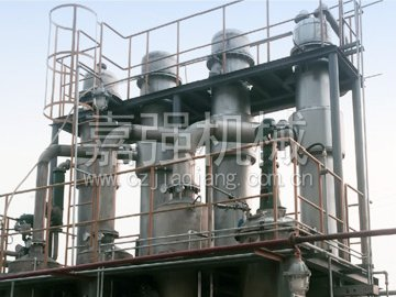 Waste water evaporator