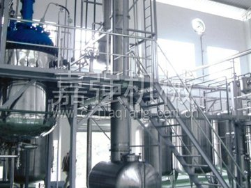 Distillation recovery tower